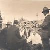 L-R Hi (Hiram Gill)(with hat), KK (Edw Clarence Dohm), Uncle Bruce (Bruce Lawrence Keene), Uncle Ernie (Ernest Keene), Uncle Joe (Joseph Major), probably in Seattle
