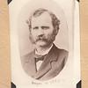 Henry S Keene, 1880s, Wisconsin. From Maude Keene Gill's album.