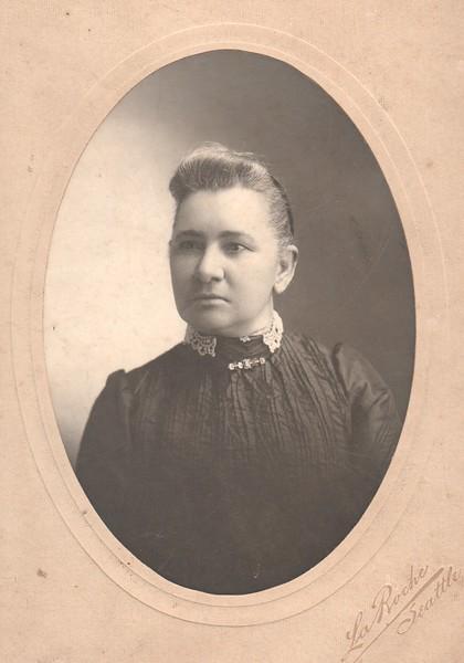 Gertrude Keene Davenport Major, 1902. LaRoche, Seattle