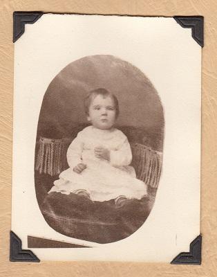 Estelle Keene. From Maude Keene Gill's album.