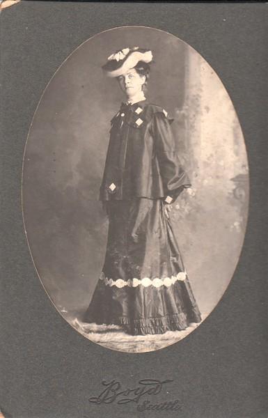 Probably Mildred Yockey Keene. Boyd, Seattle.