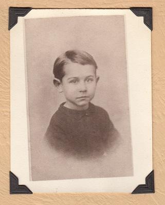 Bruce Lawrence Keene, Wisconsin, from Maude Keene Gill's album