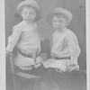 Jesse (Junior) and Maurice McLaughlin, postcard, c1911.
