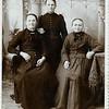 Magdalena (right) with her daughters Walburga (Klimmer) Brandl and Magdalena (Klimmer) Ziegler