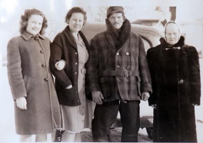 Bernice, Minnie,  Andrew,  Wilhelmina Knutilla