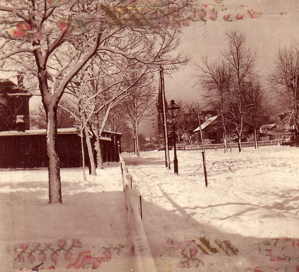 1910 North Church Street, Belleville, IL. Mamima hated the way Wehrle's Garage obstructed her view of the street. It was later torn down after she passed in 1954.