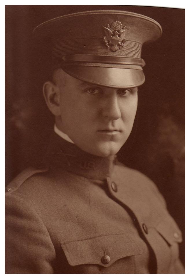 1918 Lt. Waldo K. Krebs, Army