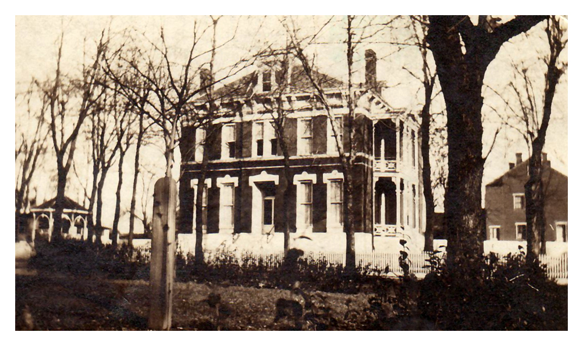 1890 The Hartmann home on 117 South Charles Street in Belleville, IL. It was built in 1884 and at one time served as an office building for law partners Gagen and Gagen.