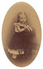 1874<br /> Mamima, age 6.<br /> Mary Jane (Miller) Torpin has the original etching in her home in San Diego.