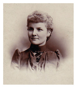1891 Christiana Hartmann at age 23. Jane Krebs' Grandmother.