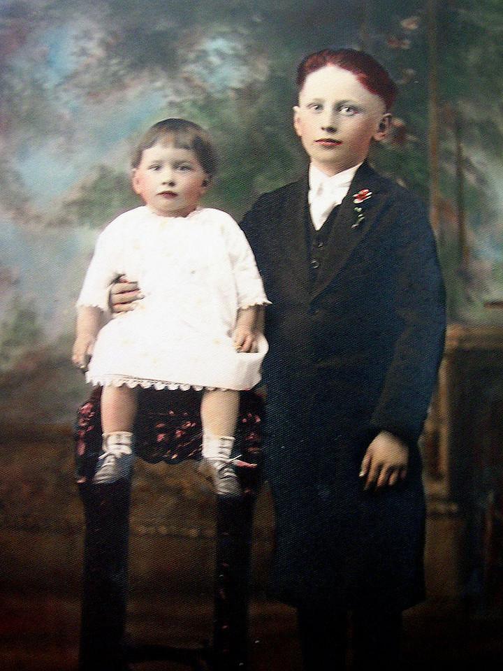 Pasquino 'Paul' Lombardi and his sister, Rena.