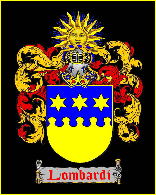 "LOMBARDI COAT OF ARMS<br /> <br /> Lombardi Motto: 'Impavidum Ferient Ruinae.' Trans: ""The ruin will strike him unafraid""<br /> <br /> ""Horace opens one of his odes with a depiction of a Stoic hero who will submit to the ruin of the universe around him: ""Si fractus illabatur orbis, / impavidum ferient ruinae"" — ""Should the whole frame of Nature round him break, / In ruin and confusion hurled, / He, unconcerned, would hear the mighty crack, / And stand secure amidst a falling world."" (Odes 3.3.7-8, translated by Joseph Addison.)<br /> <br />  <a href=""http://en.wikipedia.org/wiki/Fiat_justitia_ruat_caelum"">http://en.wikipedia.org/wiki/Fiat_justitia_ruat_caelum</a><br /> <br /> ""Quintus Horatius Flaccus, (Venusia, December 8, 65 BC – Rome, November 27, 8 BC), known in the English-speaking world as Horace, was the leading Roman lyric poet during the time of Augustus.""<br /> <br />  <a href=""http://en.wikipedia.org/wiki/Horace"">http://en.wikipedia.org/wiki/Horace</a>"