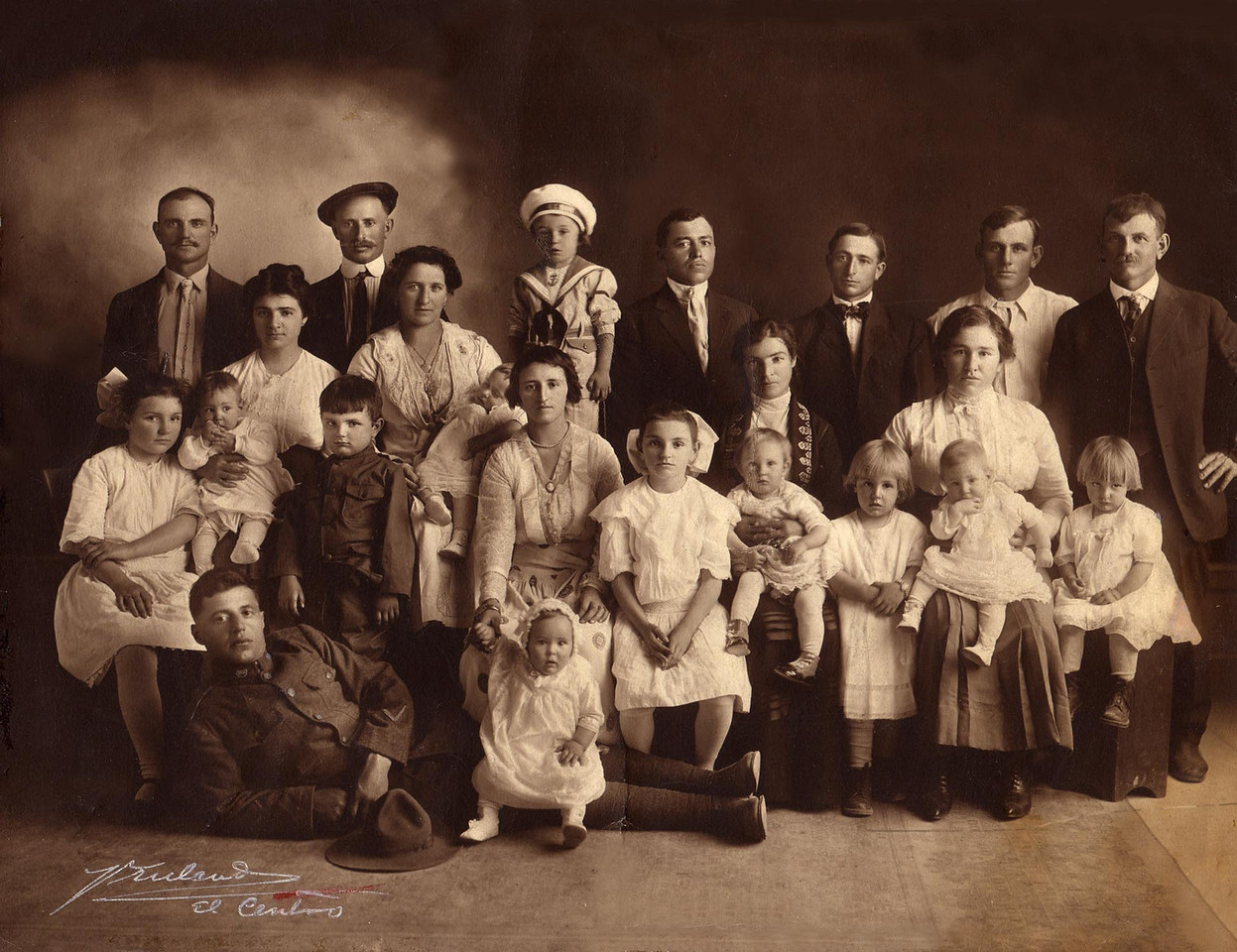 El Centro, California 1918.
