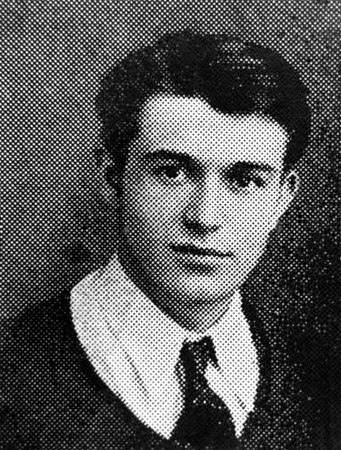 Guy Lombardi Sr., 1933 High School Graduation Photo.