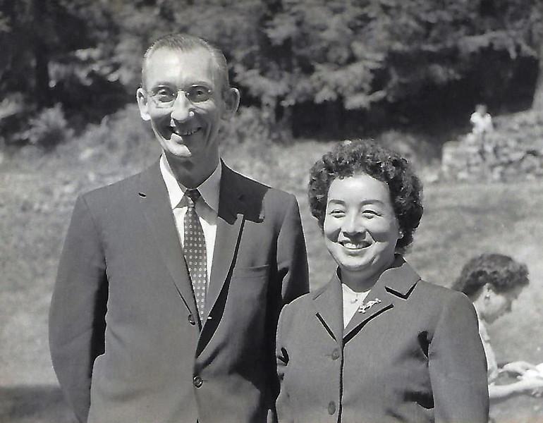 George Werts and Tomoe Wedding 1960