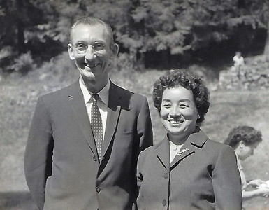 George Werts and Tomoe Wedding 1960