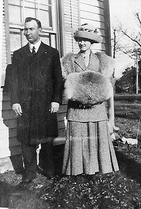 Everett L. Werts and wife Jesse
