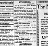 1901 - Newspaper - Chas Laymon returns home from PA