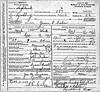 1913 - Death Cert for James Fisher