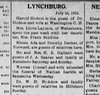 1912 - One of Lizzie laymon's daughters married a Frank Simkins