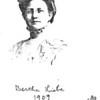 Bertha Liebe, 1909
