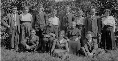 Christ & Hulda (Liebe) Braunsdorf family