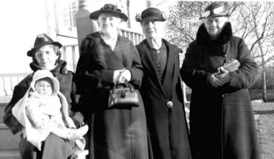 Bertha, Amalia, Laura, Ernestine