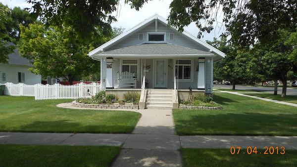 Logan UT homes - deceased Davis/Thomas relatives