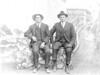 J.R. Longacre and son Albert Sidney Longacre