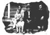 L to R: William Beutler, Irene Ella Carl Beutler, John A. Beutler, Jr., J.R. Longacre, Ella Mae Longacre Carl