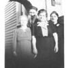 Sara Loomer (Nachman's second wife, Norman's mother) Nachman Loomer, Ethel Loomer, Minna Loomer<br /> early 1940's