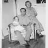 Abe & Ethel Loomer with Neil (9 months) 1950