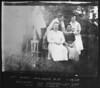 L to R: ?, Max Rosen, Sarah Lubelsky, Benjamin Harris, Ernestein (Esther) Finkelstein, Daisy Harris<br /> <br /> West Norwood, NJ<br /> 1920