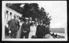 Lou Rosen and Daisy Harris (3rd and 5th from left)<br /> <br /> Schroon Lake, NY<br /> Honeymoon trip, 1920