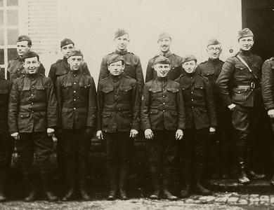 Scans from Lou Rosen's World War I Journal