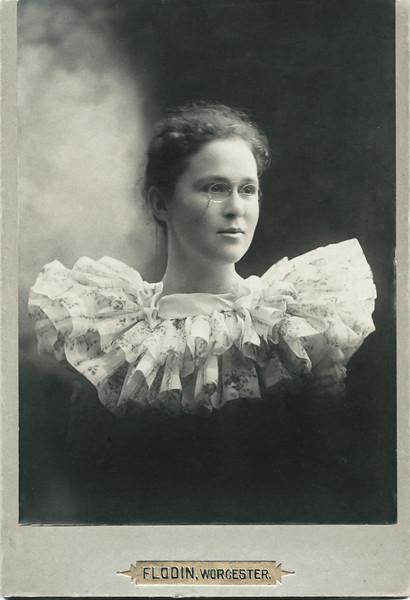 Mary (Crane) Macken, about 1896