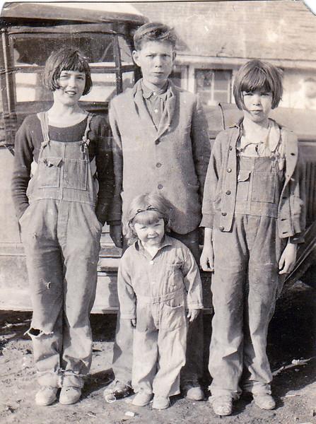 Some of the Maiden children - undated