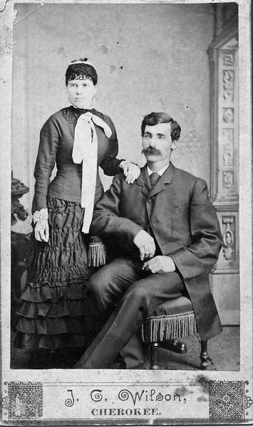 Allie (Norman) Durham and David A. Durham