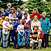 Undated photo of Betty and Marlin with lots of kids!