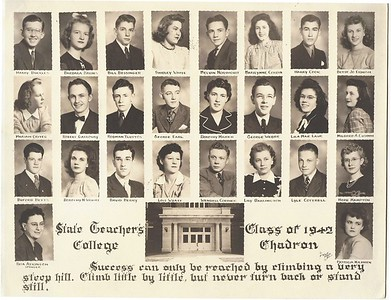 Chadron Prep Class of 1942