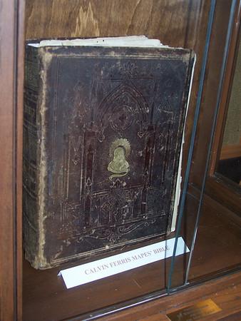 Calvin Ferris Mapes' Bible.