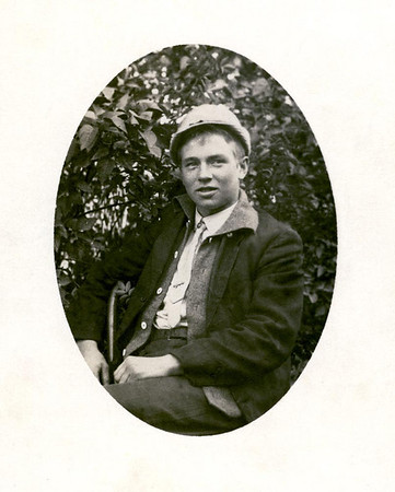 Lesley Doney Mapes- taken after his leg was removed, and shortly before his death in 1913.