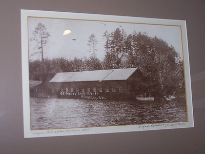C.F. Mapes' Boat Works, Minocqua, Wisconsin