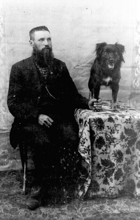 John D. Mapes (and friend)