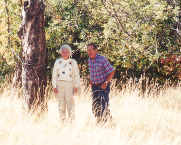 Lucille and Sam at Lagomarsino Ranch