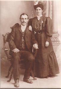Celeste' and Louise (Lagomarsino) Martini 1905