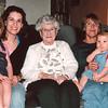 Audrey, Celeste, Lorraine, Helen and Alexis