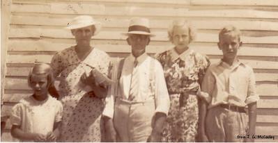Jimmie, Verda, Will, Kathryn & David
