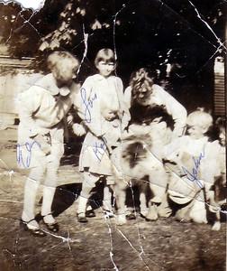 Liz, Lois, Kathryn, John. Others unidentified.