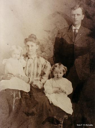 Vernon, Verda, Gladys, & Will - (about 1908)